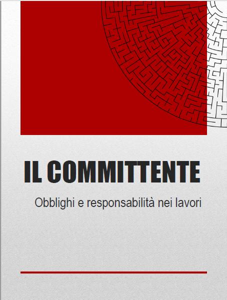 Copertina guida responsabilità del committente nella sicurezza cantieri